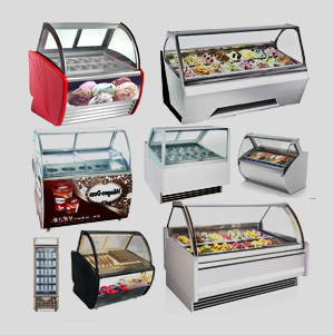 gelato display case | ice cream display case | ice cream display cabinet