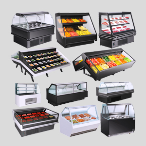 deli display case | refrigerated deli cases | refrigerated display case | self-service deli