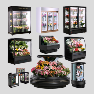 Floral Display Cooler